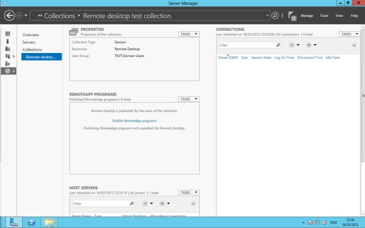 Create a desktop Session Collection10