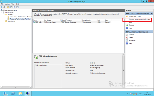 Deploying Remote Desktop Gateway RDS 2012 – Ryan Mangan's IT