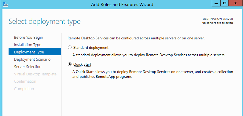 Deploying rds 2012 single server session based deployment ryan installing rds 2 yelopaper Choice Image