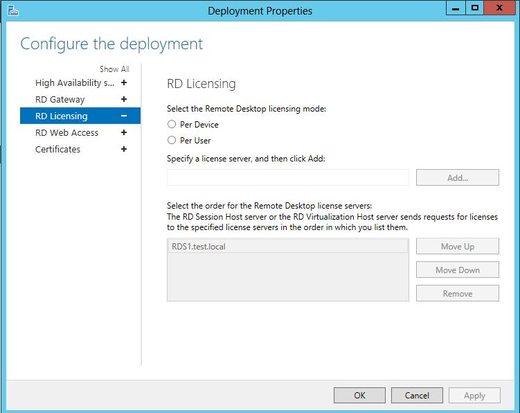 windows license server 2012