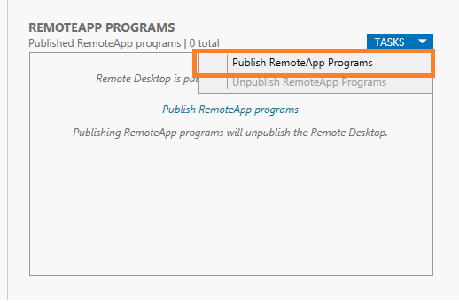 Publishing remote apps1