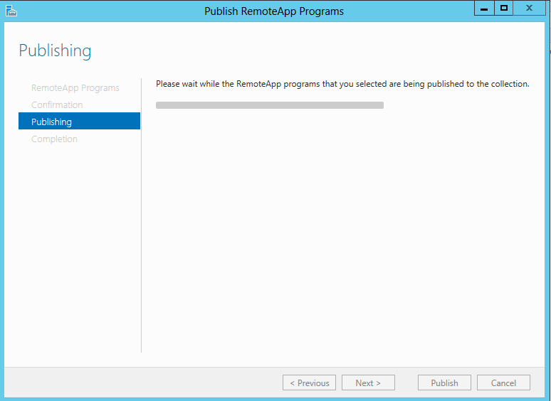 Publishing remote apps4