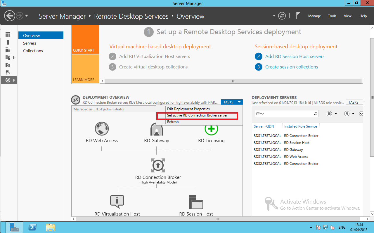 Remote Desktop Services 2016, Standard Deployment – Part 6 ...