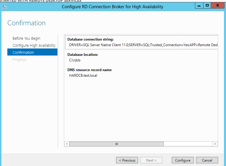 Deploying RD Connection Broker High Availability in Windows Server