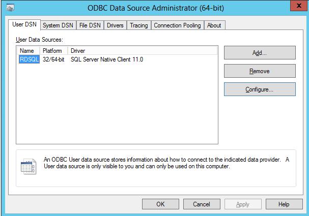 Configure SQL for RDS 2012 – Ryan Mangan's IT Blog