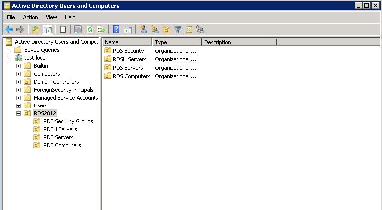 Remote Desktop Users Group Permissions