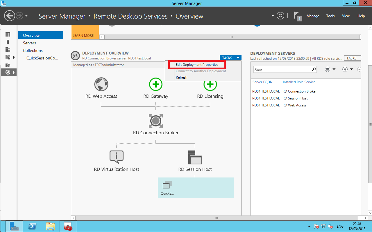 Configuring RDS 2012 Certificates and SSO – Ryan Mangan's IT Blog