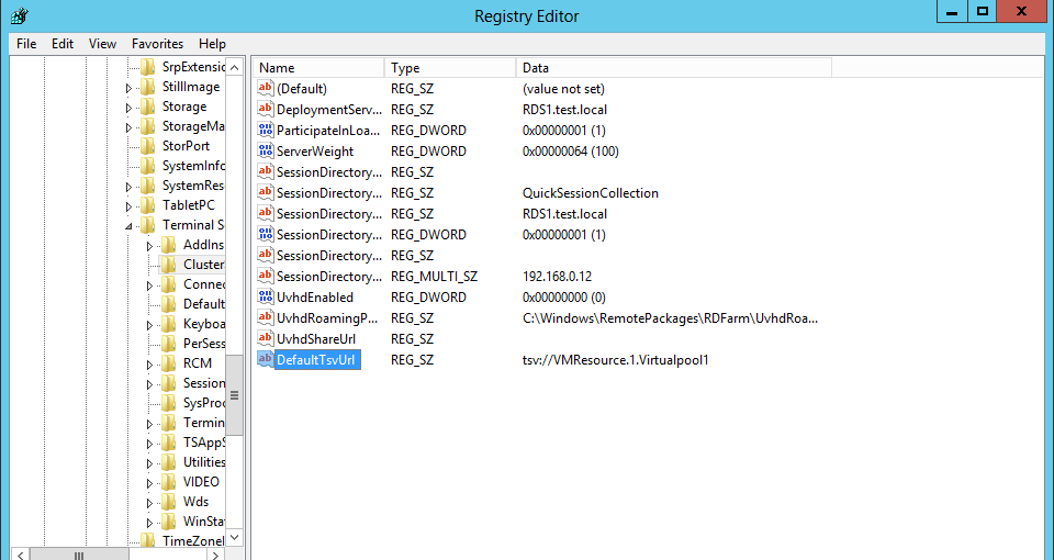 Connection Broker Redirection – RDS 2012 – Ryan Mangan's IT Blog