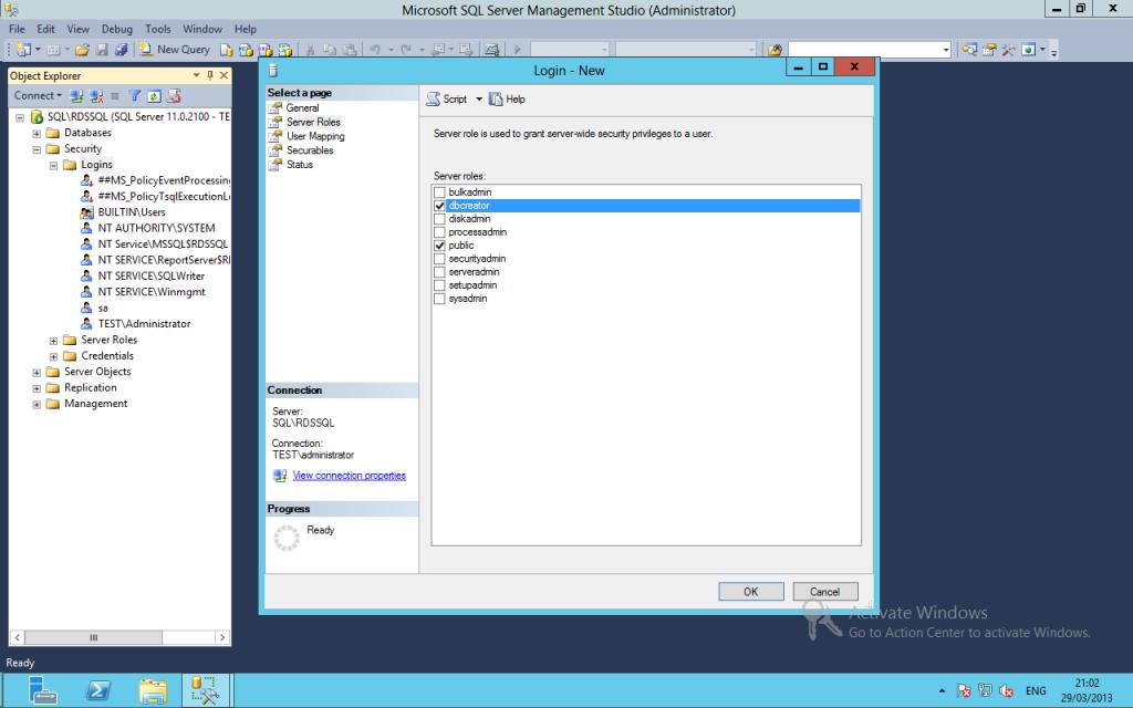 SQL RDS11