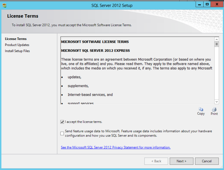 SQL RDS2