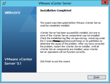 Vcenter 5 1 not starting on server 2012 – Ryan Mangan's IT Blog