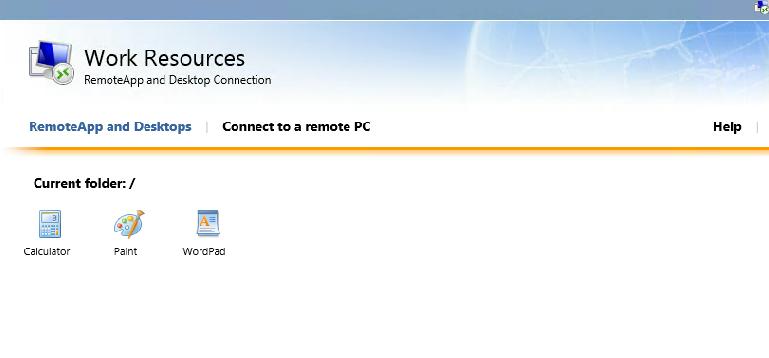 Publish Remote Desktop Session in a Remote App Session Collection