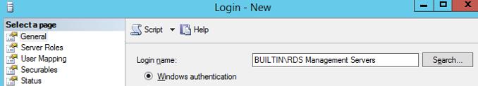 builtin rds managment servers