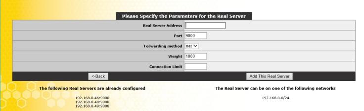 api real server