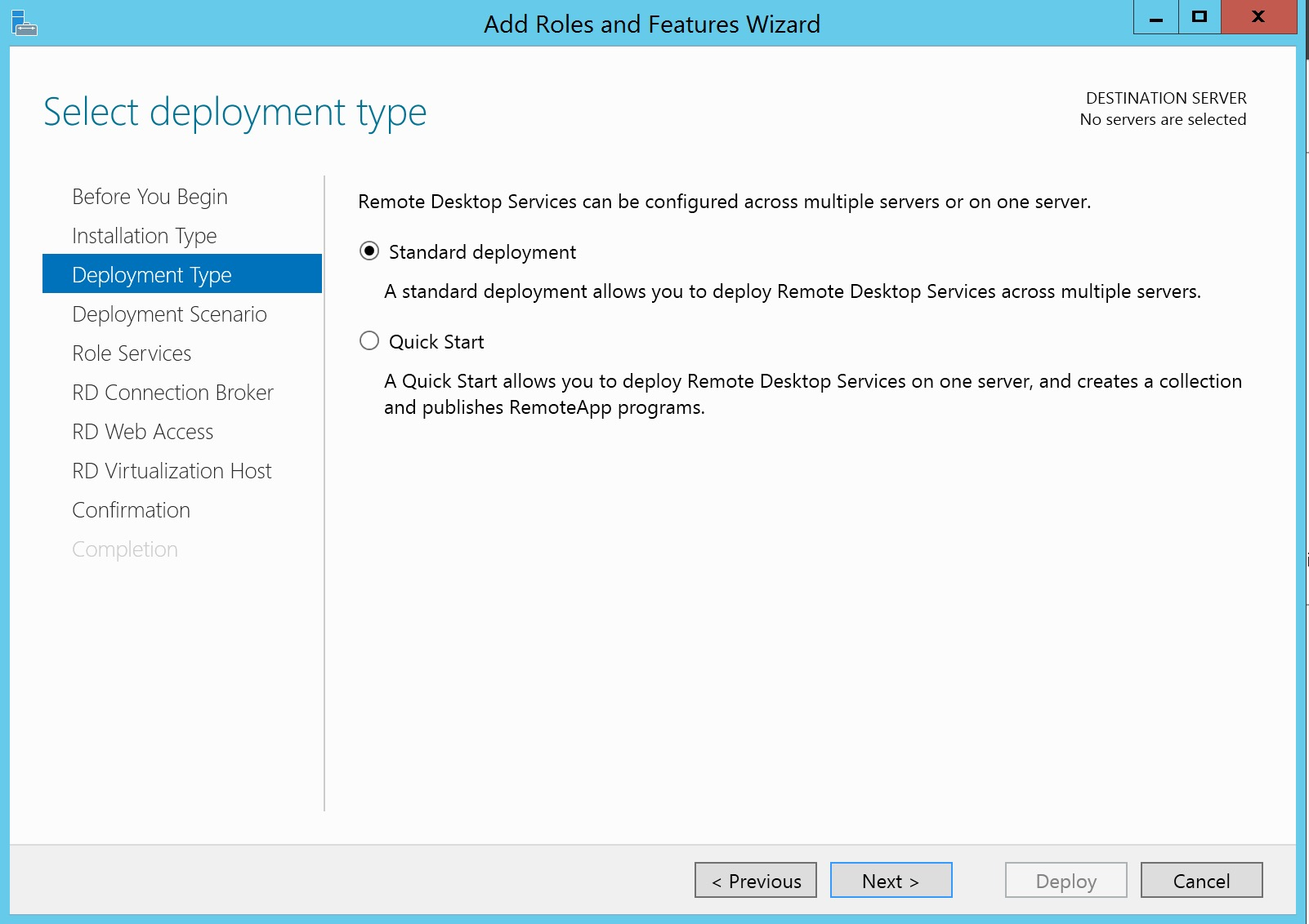 Deploying Rds 2012 R2 On A Domain Controller The Walk Through