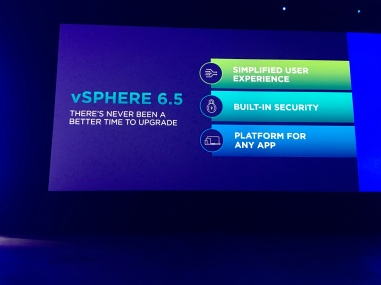 vSphere 6.5 There's Never been a better time to upgrade