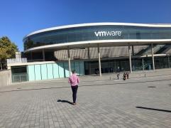VMworld 2017 entrance