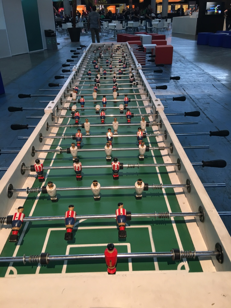 VMworld 2017 table football