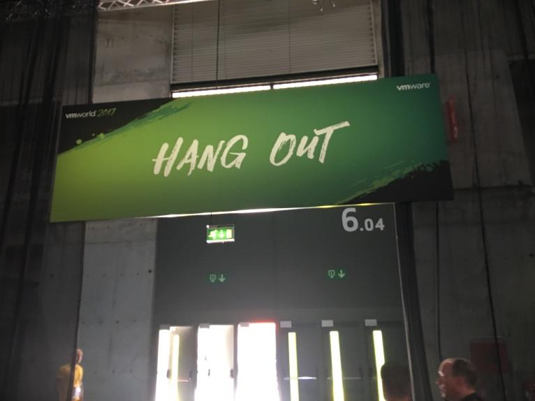 Hang out vmworld 2017