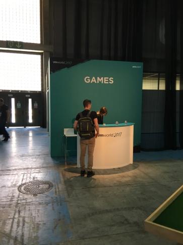 Games VMworld 2017