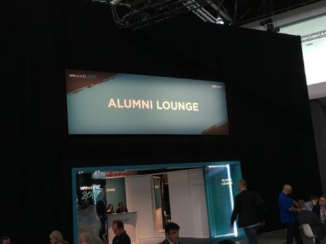 Alumni lounge - VMworld 2017